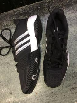 New Without Box Adidas Barricade 2 xJ Tennis Shoes Black Siz