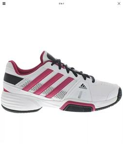 New Without Box Adidas Barricade 3xJ Tennis Shoes Pink Size