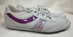 New CHAMPION Women's Athletic Shoes Sz 8 M White Purple Tenn