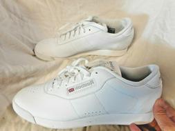 NEW Women's Reebok Classic White Tennis Shoes Sz 9.5