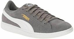 NEW Puma Women's Vikky Grey Suede Classic Low-Top Sneaker Te