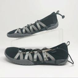 Jambu NIB Manuka Black White Memory Foam Water Shoes Women's
