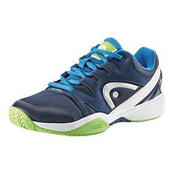 Head Nitro Junior Tennis Shoes, Navy Blue/Neon Green