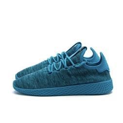 Adidas Pharrell Williams Tennis HU PW Shoes Aqua DB2861 Dip
