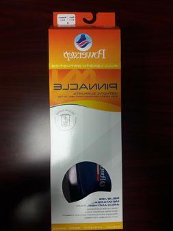 Powerstep Pinnacle Full Length Shoe Insole Orthotics, Blue,