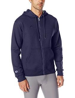 Champion Men's Powerblend Sweats Full Zip Jacket Navy M