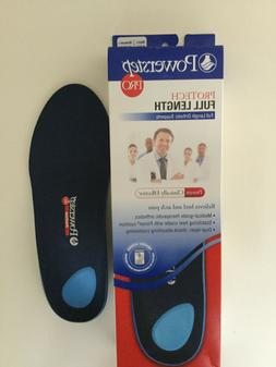 Powerstep PRO ProTech FULL LENGTH ORTHOTIC INSERTS INSOLES S
