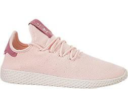 adidas Originals Women's PW Tennis HU Running Shoe, ice Pink