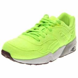Puma R698 Bright  Casual Running  Shoes - Green - Mens