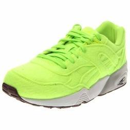 r698 bright running shoes green mens