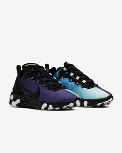 Nike React Element 55 Day & Night Equinox Blue Running Shoes