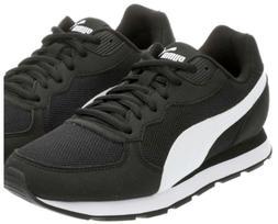 PUMA Retro Runner Women's Black Tennis Shoes Gym Sneakers Si