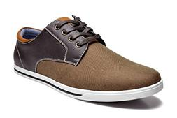Bruno Marc Men's RIVERA-01 Dark Brown Oxfords Shoes Sneakers