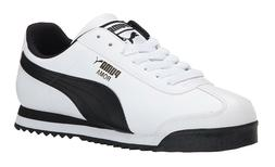 PUMA Roma Basic White, Black Mens Sneakers Tennis Shoes Item