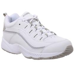Easy Spirit Women's Romy Sneaker,White/Light Grey,9.5 M
