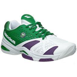 Babolat SFX All Court Wimbledon Men Tennis Shoes White Green