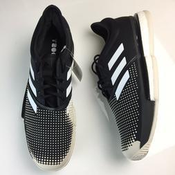 Adidas SoleCourt Boost Clay Tennis Shoes Black White Mens Sn