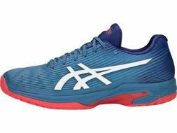 Asics Solution Speed FF men's tennis shoes Blue/Red 1041A003
