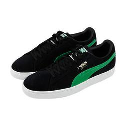 Puma Suede Classic X Xlarge Mens Black Suede Low Top Lace Up