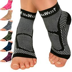 techware ankle brace compression sleeve