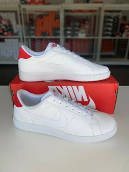Nike Tennis Classic CS Casual Shoes White Red 613613-113 Men