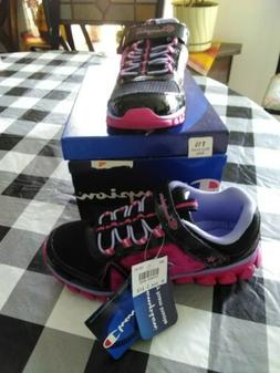 Champion Tennis Shoe NWT little girls size 1 1/2 multi color