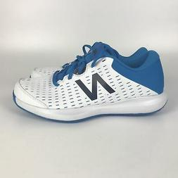 New Balance Tennis Shoes Mens Size 9.5 White/Blue Mch696r4