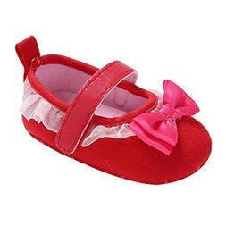 Aniywn Toddler Baby Girls Butterfly Tie Lace Shoes Newborn A