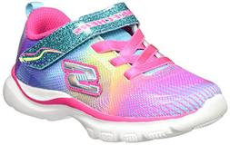Skechers Kids Baby Girl's Trainer Lite  Multi 2 5 Toddler M