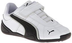 PUMA Tune Cat B 2 V Kids Sneaker  , White/Black, 7 M US Todd