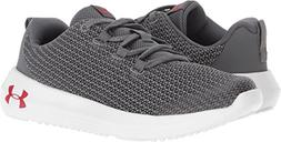 Under Armour Kids Boy's UA BPS Ripple  Graphite/White/Red 10