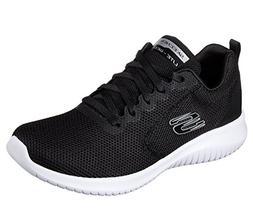 Skechers Women's Ultra Flex-Free Spirits Trainers, Black , 7