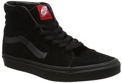 Vans Sk8-hi Unisex Adults' Hi-Top Sneakers, Black/Black, 7.5