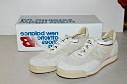 Vtg White New Balance Tennis Shoes Sneakers Deadstock Unworn