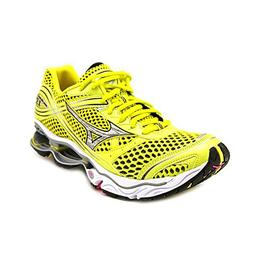 Mizuno Wave Creation 13 Womens Size 9.5 Yellow Mesh Running