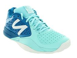 New Balance Women's WC996 Lightweight Tennis Shoe, Light Blu