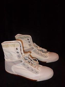 white high top brand new tennis shoes