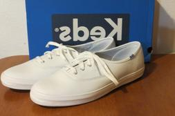 2bc705dc45e Keds White Leather Champion Oxfords Sneakers Tennis Shoes