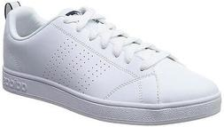 White Adidas Mens Advantage Clean VS Shoe #F76598 Choose Siz