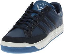 wm court tennis shoes black blue white