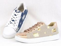 Women Fashion Sequin Glitter Comfort Sneaker Tennis Shoes Al