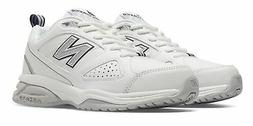 New Balance Women's 623v3 Shoes White with Navy