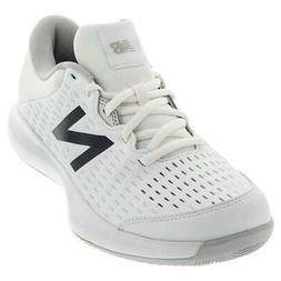 New Balance Women`s 696v4 B Width Tennis Shoes White and Pig