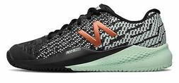 New Balance Women's 996v3 Tennis Shoes Black with Green