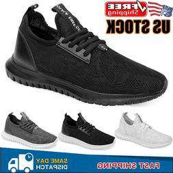 Men's Casual Athletic Sneakers Outdoor Running Walking Tenni