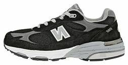 New Balance Women's Classic 993 Running Shoes Black with Gre