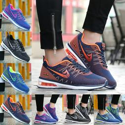 Women's Athletic Tennis Shoes Flyknit Sneakers Air Cushion R