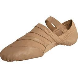 women s freeform ballet shoe in caramel