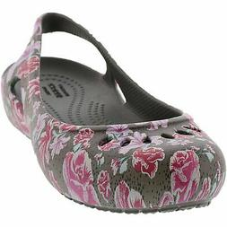 Crocs Women's Kadee Graphic Slingback Ankle-High Slip-On Sho