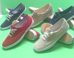 Women's KEDS Size 6,7.5,9.5 Canvas Tennis Walking Shoes Casu